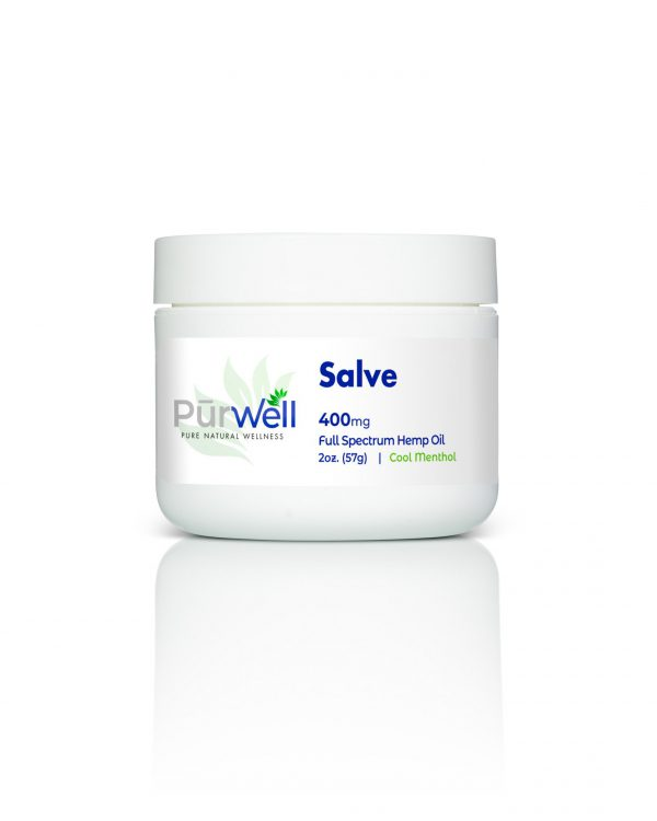 pure natural cbd salve 400 mg