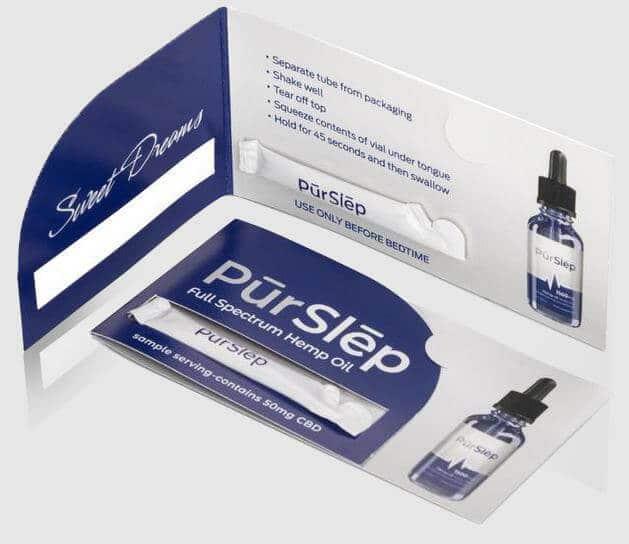 cbd oil for sleep sample pack