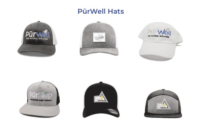 PureWell Hats